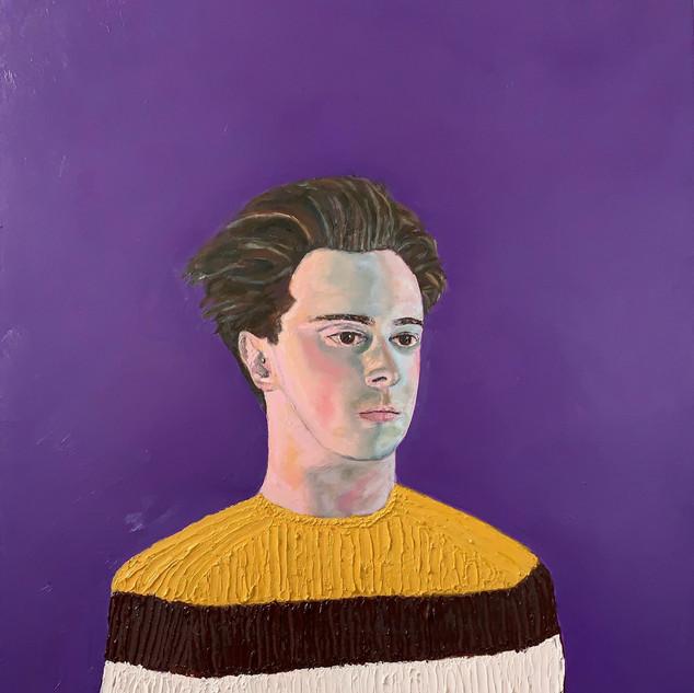 Self Portrait In a Gucci Sweater