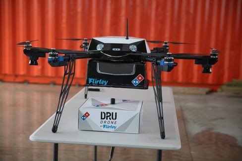 "Bloomberg: ""Kiwis Claim Another World-First With Pizza Delivery by Drone"""