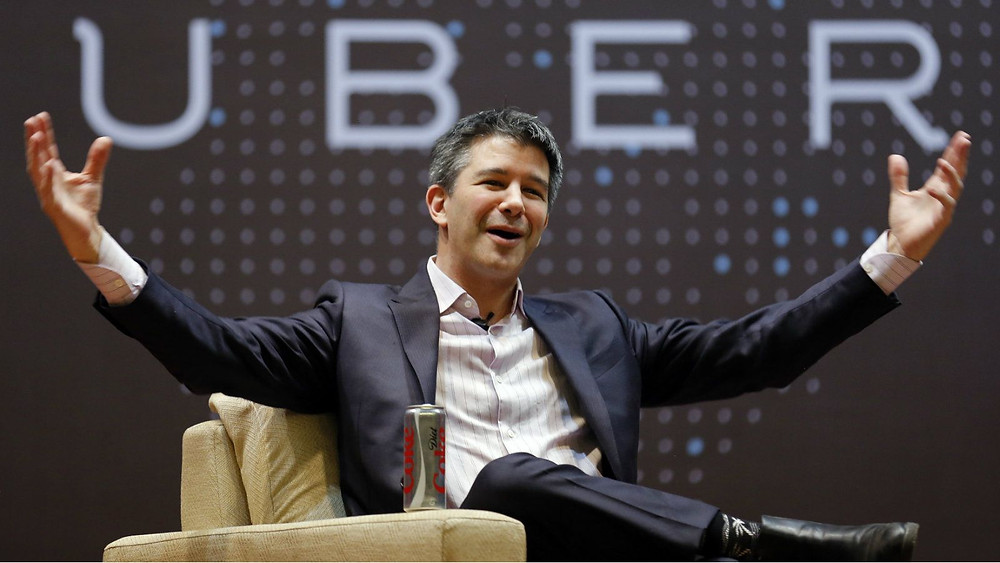 Travis Kalanick, Uber's Co-Founder