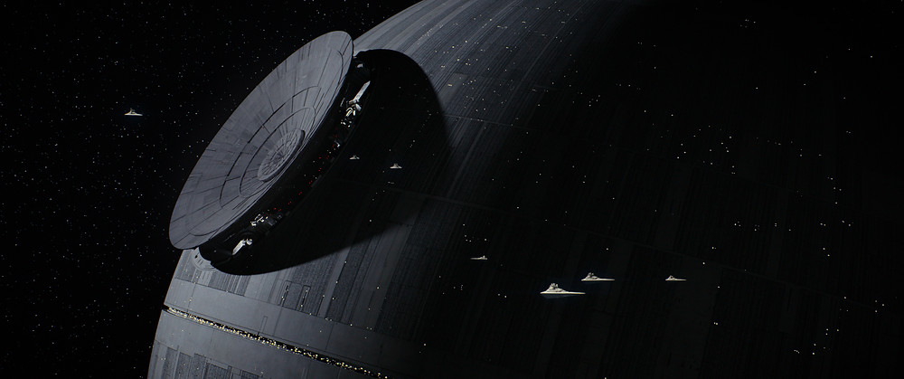 Death Star in the Star Wars movies