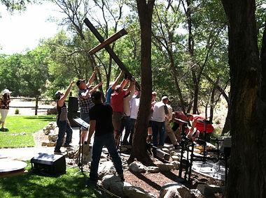 Cross Raising at Koinonia Christian Fellowship