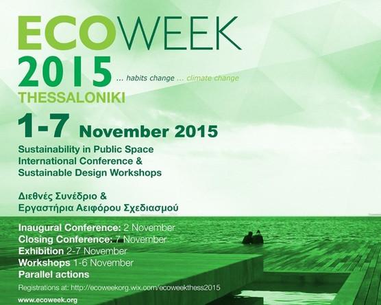 40.22.Architects in ECOWEEK 2015  Thessaloniki, Greece / November 1-7