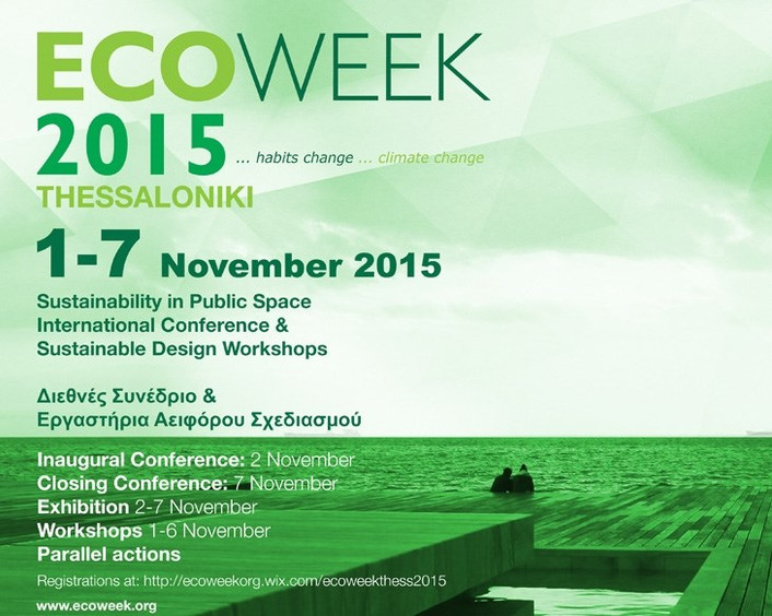 40.22.Architects in ECOWEEK 2015  Thessaloniki, Greece / November 1-7