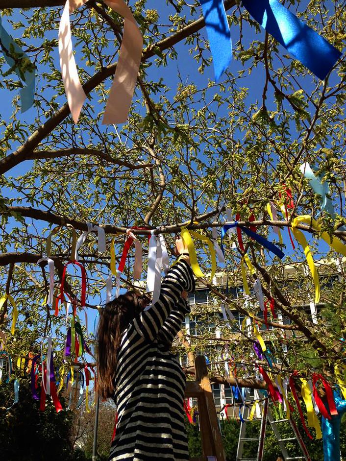 Άνοιξη στο ΑΠΘ 2016, 21/3/2016 'Χρωματίζοντας τα δένδρα'