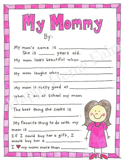 A Mother's Day Project - FREE Printable!