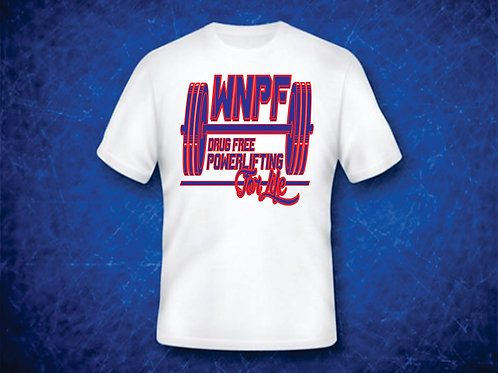 WNPF LOGO- WHITE SHIRT