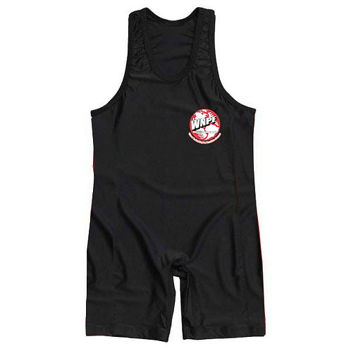 BLACK AND WHITE SINGLET- S,M,L,XL