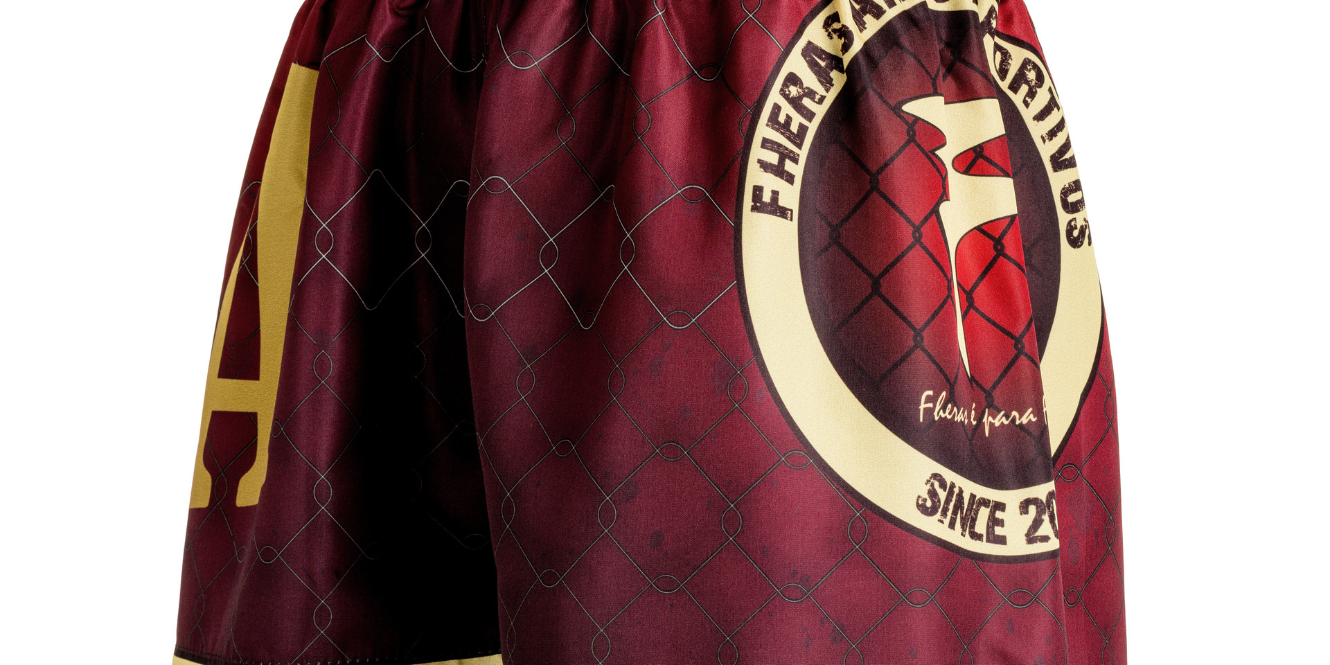 Shorts Fheras MMA RED