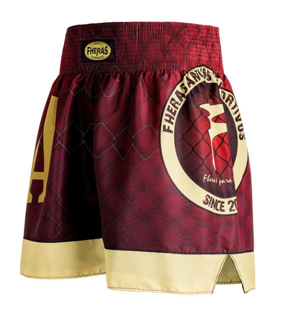 Shorts Fheras MMA RED - REF 2526