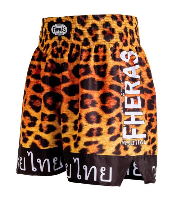 Shorts Fheras Onça Muay Thai - REF 1353
