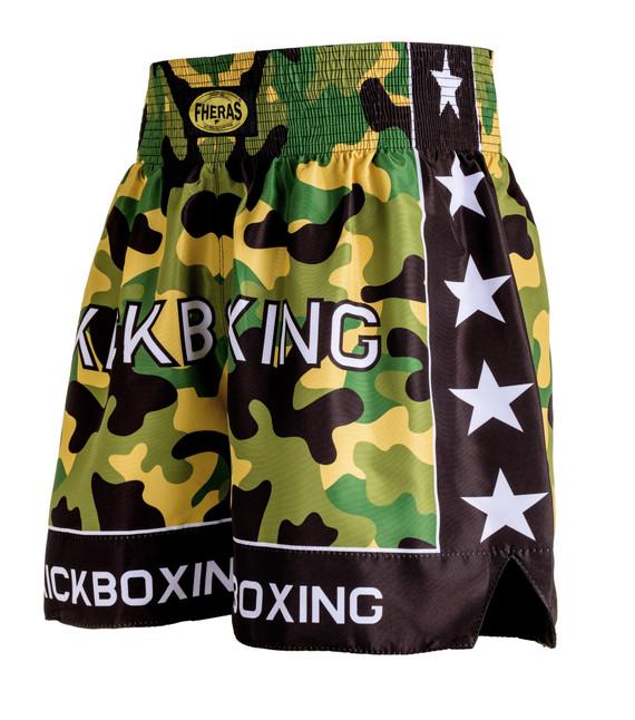 Shorts Fheras Camuflado KickBoxing - REF 1347
