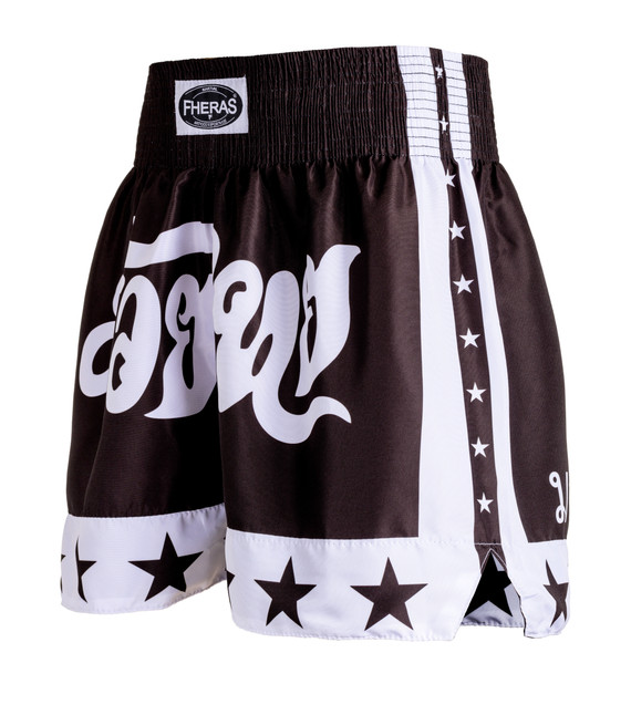 Shorts Fheras Estrela 2 Preto - REF 1338