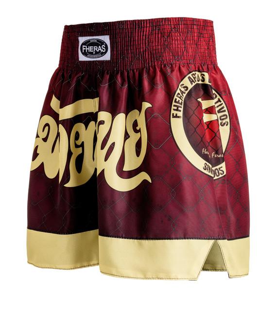 Shorts Fheras Muay Thai RED - REF 2525