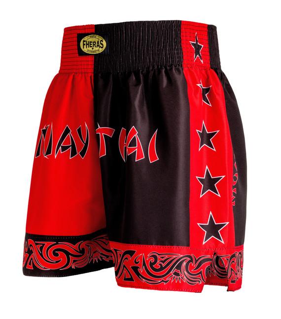 Shorts Fheras Bicolor Vermelho/Preto - REF 1313