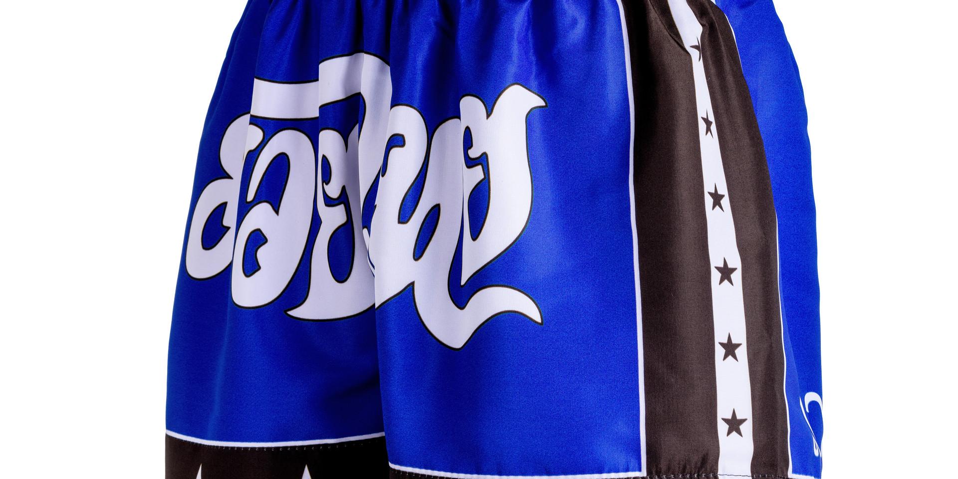 Shorts Fheras Estrela 2 Azul