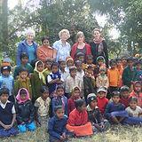 IIMC School Children with foreign volunt
