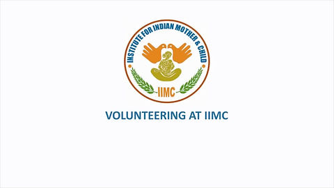 Volunteering at IIMC