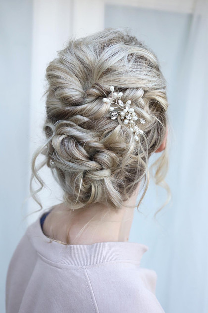 Hair updo for Brides