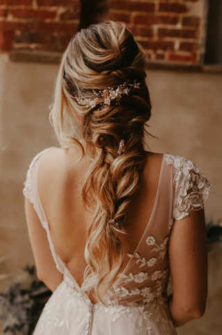 Bridal Hair by Melissa
