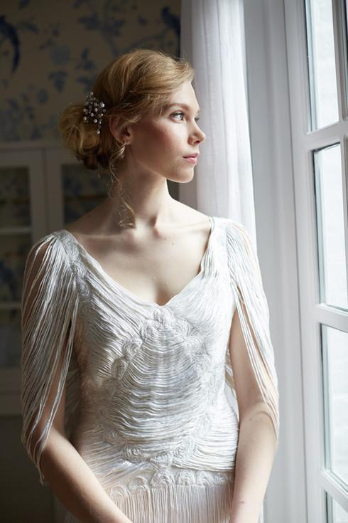 Vintage Bridal Hair and Makeup