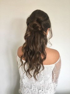 Soft Half up Half down Hair