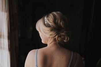 Soft Bridal Updo