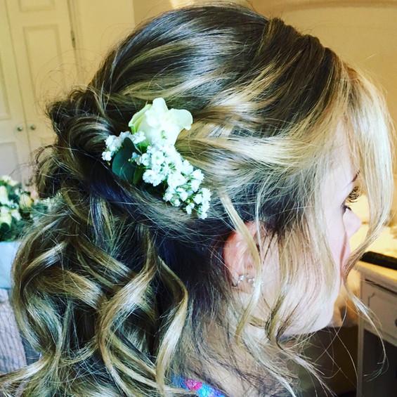 Soft Bridesmaids Hair