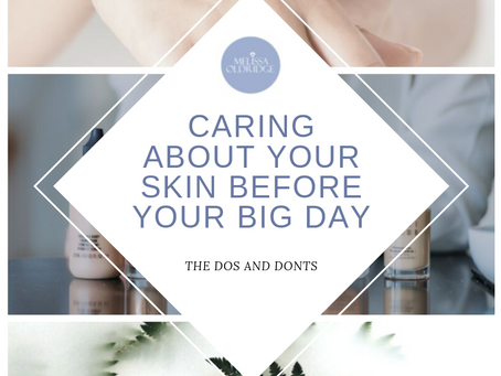 SKINCARE ROUTINE BEFORE YOUR WEDDING DAY