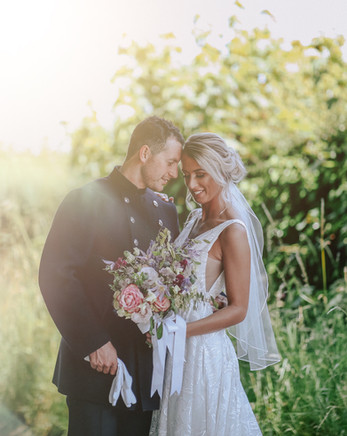 Soft relaxed Bridal Look