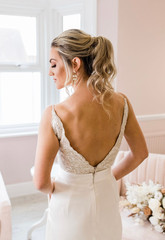 Relaxed Ponytail Bridal Hair