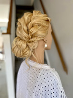 Relaxed Bridal Updo