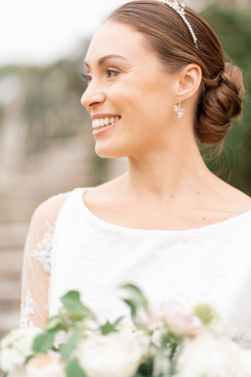 Natural Glow for a Bride
