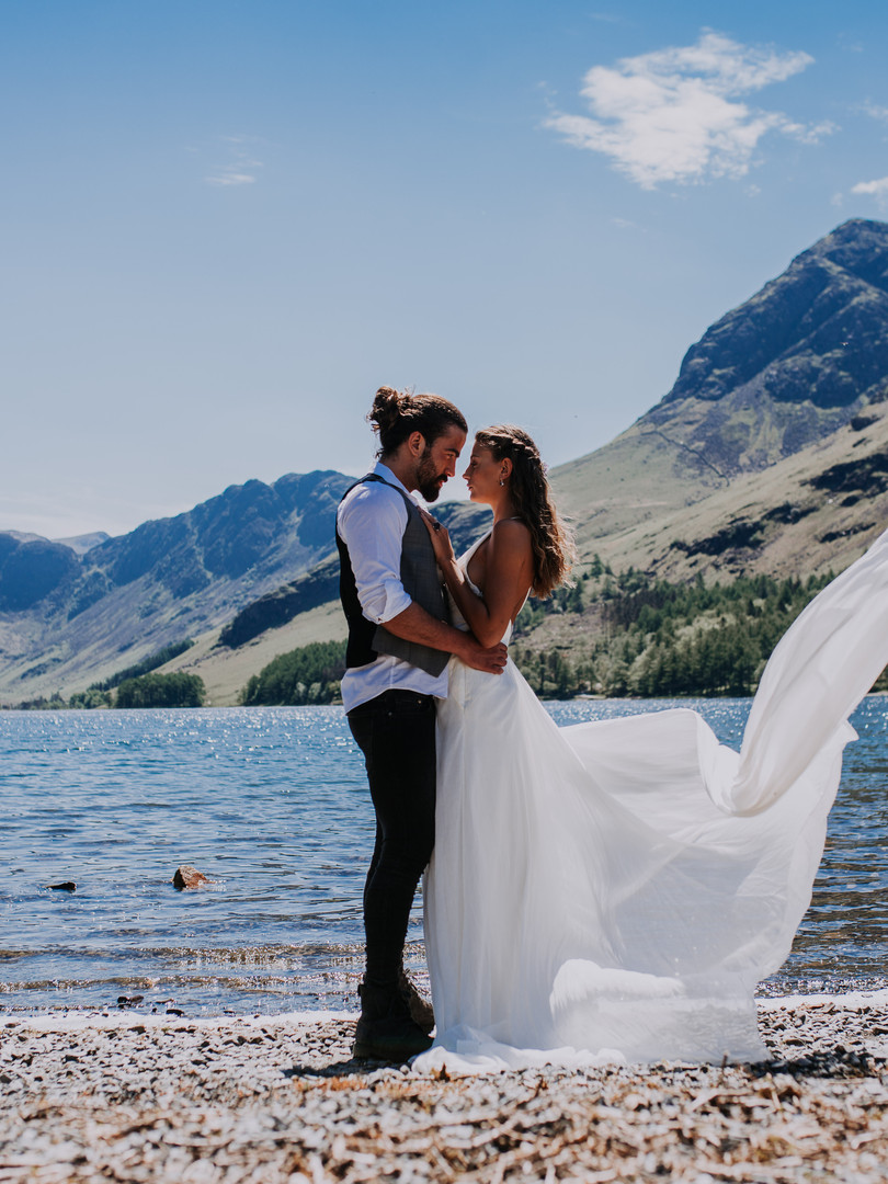 Wedding in the Lake Districk