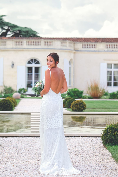 French Wedding Hair and Makeup