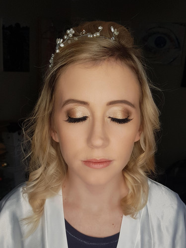 Prom Hair and Makeup