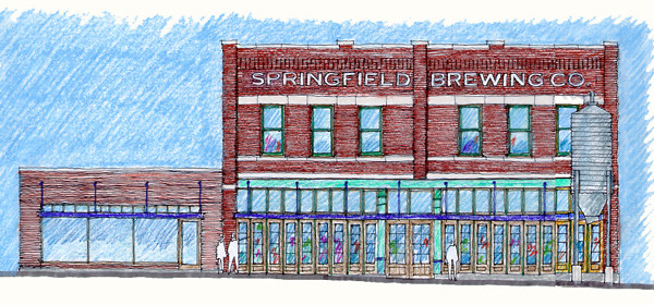 Springfield Brewing Company rendering