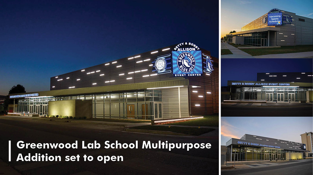 Greenwood Lab School Multipurpose Addition set to open