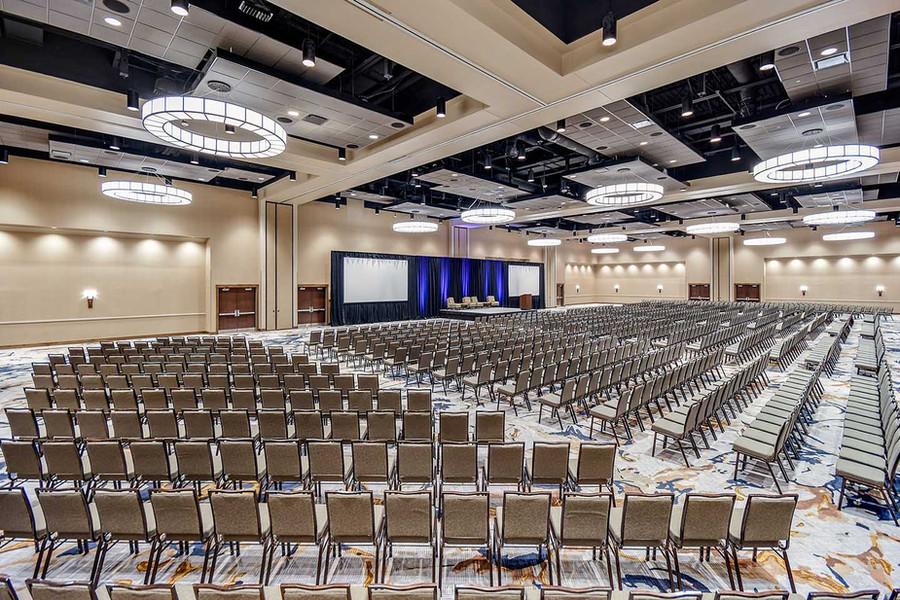 Embassy Suites Jonesboro Red Wolf Convention Center Arvest Ballroom
