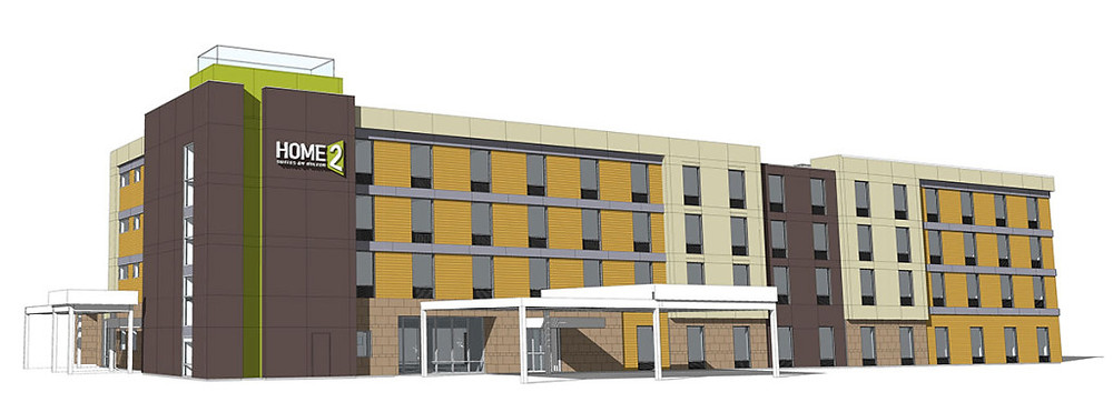 Home2 Suites Malta, NY Rendering