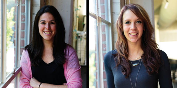 Lauren Cook & Nicole Buerke: BR&P Welcomes Two New Members to its Team of Design Professionals