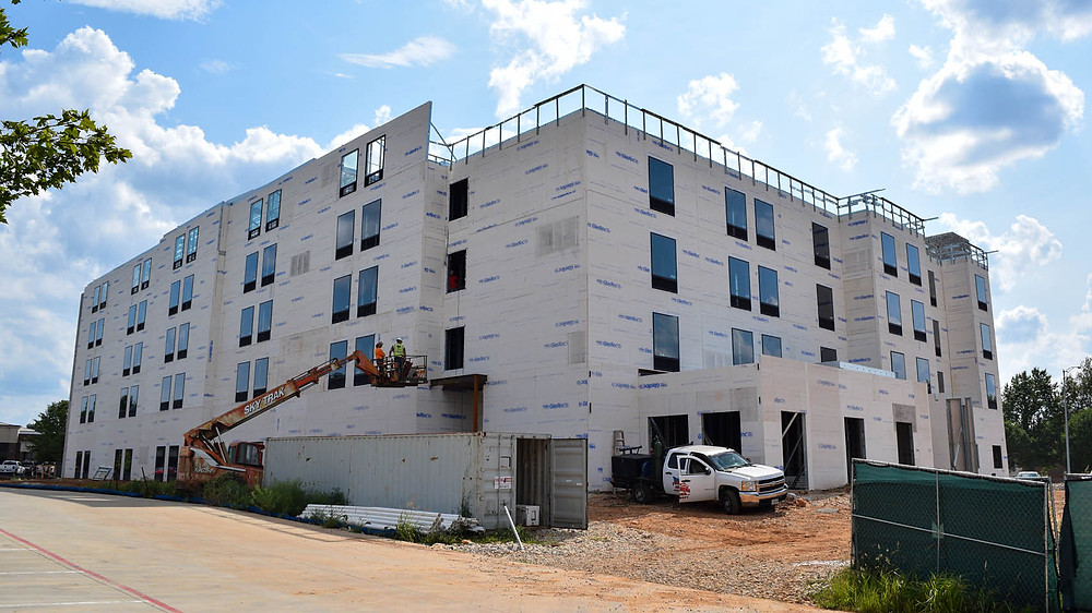 Construction on Homewood Suites by Hilton in Springfield, MO