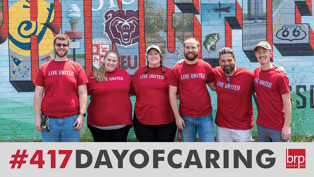 BRP Architect attending United Way's Day of Caring 2021 #417DayofCaring