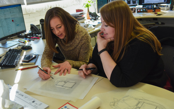 Nicole and Laura - BR&P Women of Architecture Blog