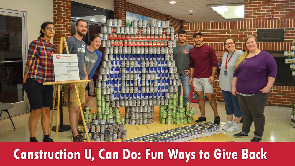 Canstruction U, Can Do: Fun Ways to Give Back
