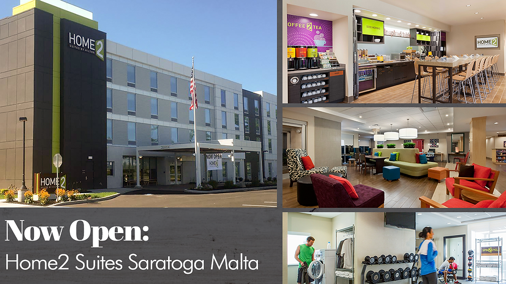 Now Open: Home2 Suites Saratoga Malta