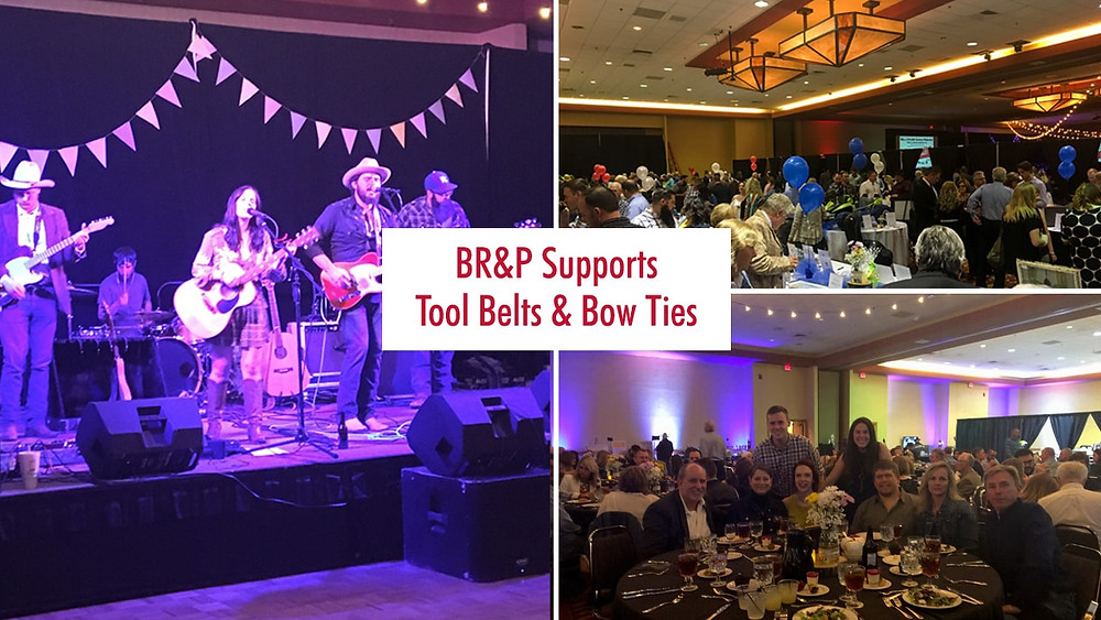 BR&P Supports Tool Belts & Bow Ties