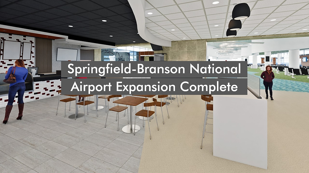 Springfield-Branson National Airport Expansion Complete
