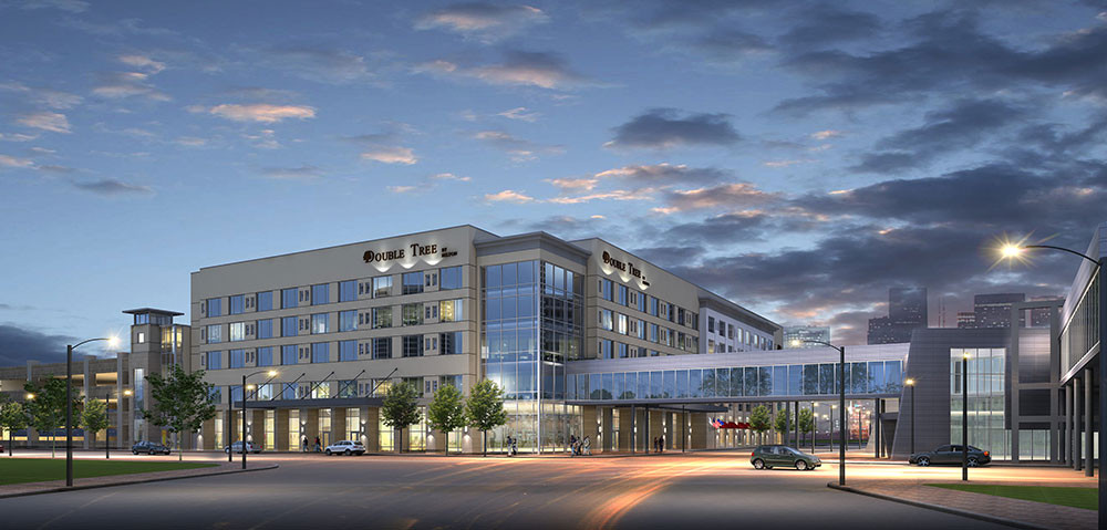 DoubleTree by Hilton in downtown Evansville, IN