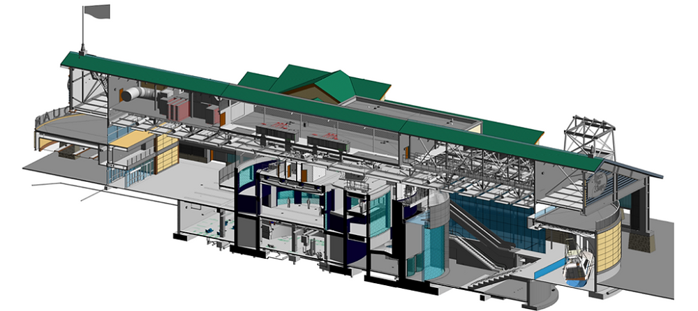 3D Revit image prepared by BR&P
