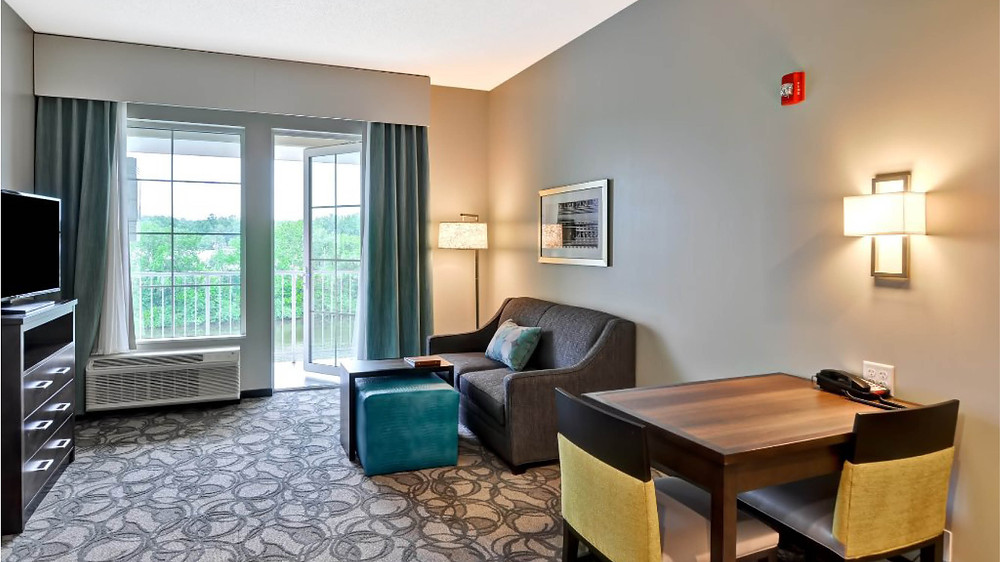 BRP designed Homewood Suites in Schenectady, an extended stay hotel.